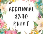 ADD ON any 8x10 to order