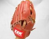 vintage Don Sutton baseball mitt new old stock with tags Dimple II SSK saski sports leather baseball mitt right hand mitt little league