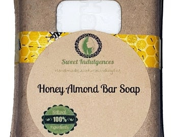 Honey Almond Bar Soap