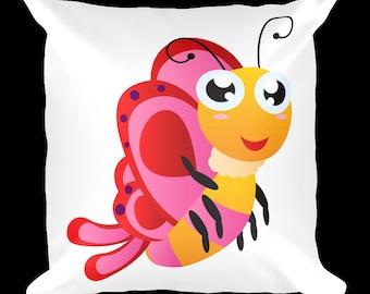 Butterfly 1 Designer Throw Pillow