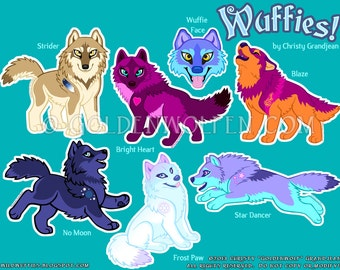 Wuffies! Stickers
