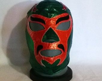 Hara Kiri Wrestling Mask Mardi Gras day of the dead halloween party masks Horror masquerade Classic Lucha Libre heros The Mandarin Iron Man