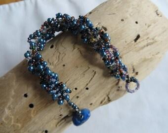 """6 3/4"""" Seed Bead Bracelet"""