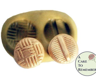 Silicone  Buttons Mold for cake decorating, chocolate, hard candy, polymer clay, resin, wax, soap, silicone mould M15