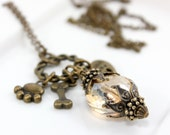 Furbaby Cluster Charm Necklace