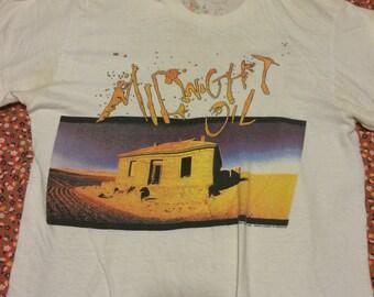 Vintage Midnight Oil Diesel and Dust shirt 1987