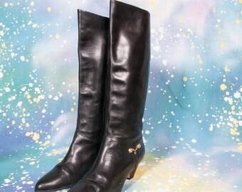 30% OFF Tall Black Dress Boot Size 8 .5 Narrow