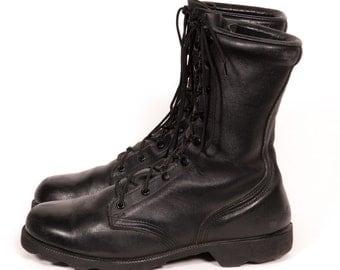 Men's Combat Boots Size 11 EEE Extra Wide