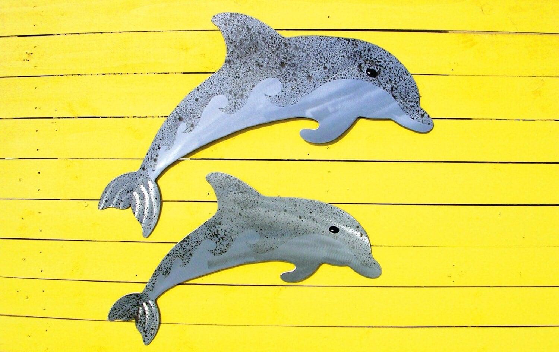 Dolphin Outdoor Wall Decor : Custom order for doug