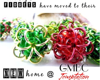 Click for Price - Fidget Balls - Moved to New Shop - See Listing for Actual Price and Link