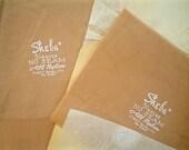 Two Pairs of Vintage Nylon Stockings, Nude Color, Size 10.5 Sheba Stockings Fine Gauge