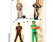 Simplicity 8890 Childs Spaceman or Spacewoman, Nurse, Doctor, Military Costumes Pattern Uncut