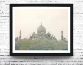 Taj Mahal Art Print, Taj Mahal, India Photo, Hindu Decor, Indian Wall Art, Taj Mahal Print, Taj Mahal Wall Art, Hindu Poster, Taj Mahal Art