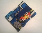 Crayon Wallet,  Kids Wallet, Crayon Roll Wallet, Art Case for Kids, Gift For Kids, Birthday Party Favor, Wallet, Gift for a Child, Batman