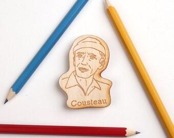 Jacques Cousteau Magnet Set