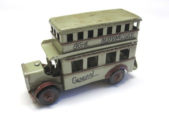 Collectible Toy Bus Metal Double Decker Bus