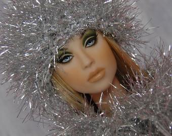 """for 16"""" Doll crochet Grass Set """"Silver snow"""" - Tonner Sybarite Gene - AllforDoll STYLE"""