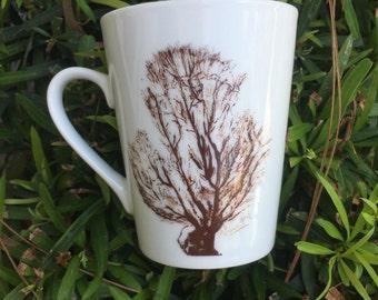 Sea fan coffee cup