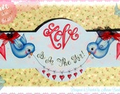 E PATTERN - Love is in the Air! Sweet for so many occasions! Designed & Painted by Sharon Bond - FAAP