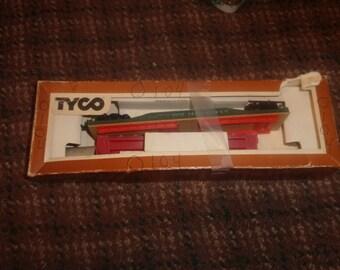 vintage tyco ho train car 2 flatcar att great northern railroad