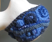 Headband - Freeform Crochet