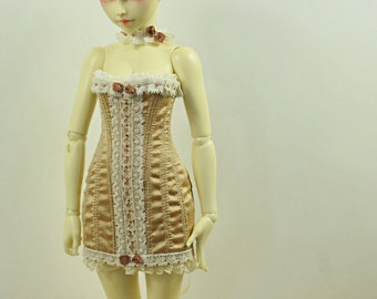 Golden Lady BJD Antique Line Corset Dress for Minifee