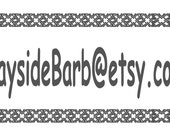 Special listing for Barbara Stickel--8 sheets .5 x 2.5 and .5 x 2--2 free sheets--free shipping