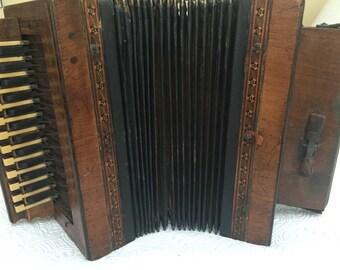Antique Hohner accordion