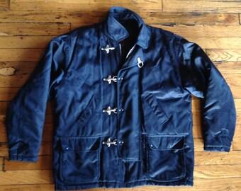 Vintage Schott Brothers NYC Men's Fireman jacket USA large