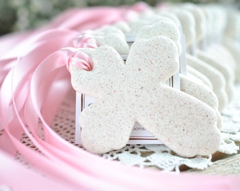 Cross Baptism Favors Salt Dough Ornaments Set of 10