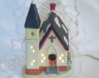Porcelain Lighted Christmas Decor