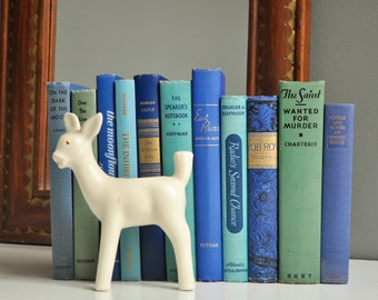 Vintage Blue and Green Book Collection
