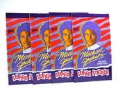 2 Michael Jackson Super Sticker Packs Topps 1984