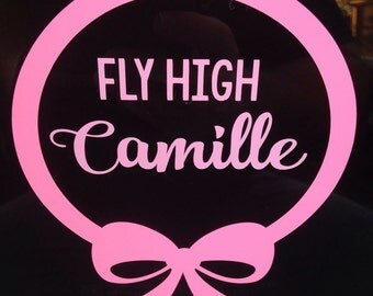 Fly High Camille Car Decal - In Memory of Camille Williams