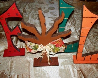FALL Letters Decor