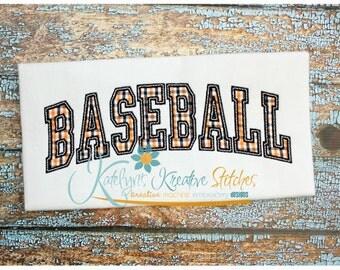 Baseball Arched
