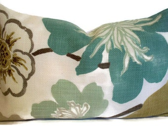 Aqua Pillow Cover Gorgeous Pearl Lumbar Braemore 16 18 1-18, 1-18 co, 4-10x16co