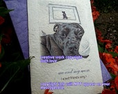 me and my mom ( a best friend's song  ) staffie cards/ staffordshire cards/ journey cards/sentimental cards/unique empathy condolence cards