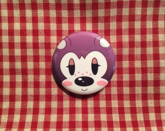 Sable (Animal Crossing) Button