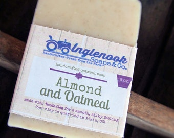 Almond and Oatmeal Handcrafted Soap Inglenook Soaps