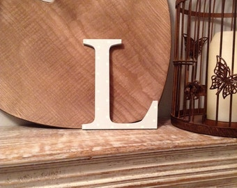 painted wooden letter l any colour roman style 20 wall letter various colours other sizes