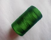 Green Silk Thread, Art Silk Thread, Hand And Machine Embroidery Thread