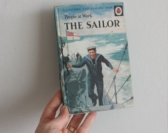 Sailor Notebook handmade from a vintage Ladybird Book