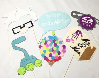 Up Wedding photo booth props
