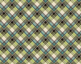 29019 Free Spirit Denyse Schmidt Ansonia - Corner Plaid in Mossy  color PWDS065 -  1 yard