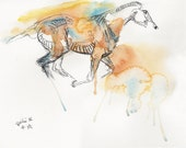 Original Fine Art, Gallop...