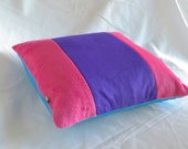 Striped Plush Pillow Cover - Choose Colors