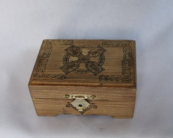 Celtic Knotwork Small Trinket box