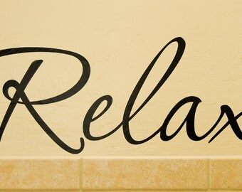 Relax - Wall Decal