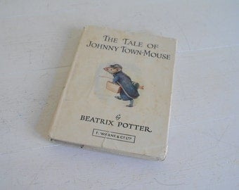 The Tale of Johnny Town-Mouse - Beatrix Potter - Warne & Co - No Date